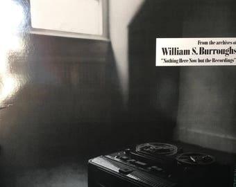 William S Burroughs Vinyl Record Album LP