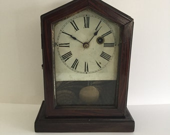 1800s Philip Haas U0026 Sohne Key Wind Shelf Mantle Clock~Art And  Collectibles~Home