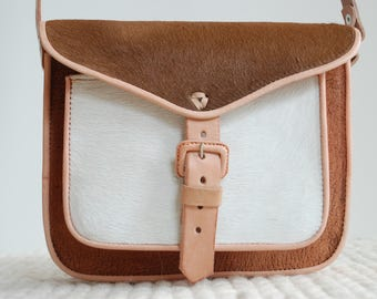 Leather Crossbody Bag, Leather purse, brown leather bag, Mexican Bag