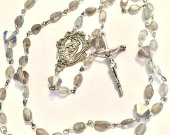 Labradorite rosary