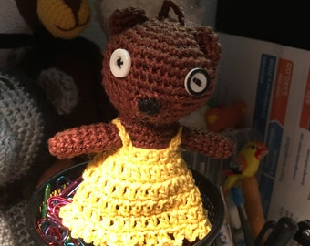 Handmade Crocheted Teddy