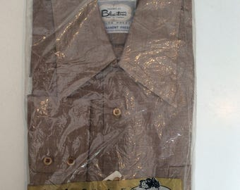 1960's -70's men's shirt in original package - Bluestone vintage shirt