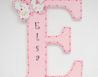 Bella Butterfly Letter Personalised