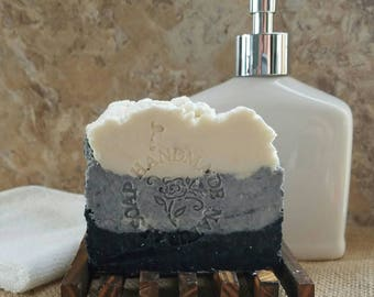 Acne Soap / Tea Tree Soap / Activated Charcoal Soap / Natural Soap / Oily Skin / Handmade Soap / Acne Treatment / Vegan Soap /  Face wash