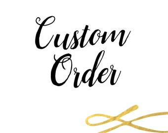 Custom Modifications |  Party Printables