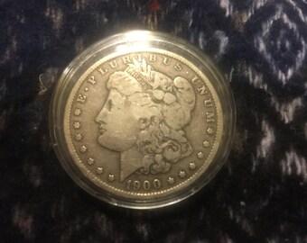 1900 silver dollar