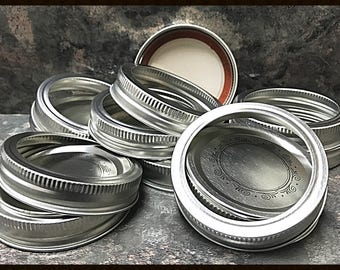 Mason Jar Rings - Bulk Mason Jars - Canning Jar Lids - Mason Jar Lids - Craft Supplies - Surplus - DeStash - Ball Mason Jar - Canning Lids