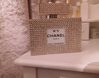 Chanel inspired perfume bottle