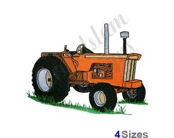 Classic Tractor - Machine Embroidery Design