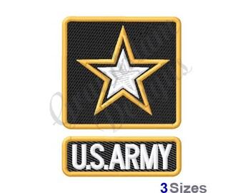 U.S. Army - Machine Embroidery Design