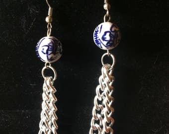 Chinese Drop Earrings