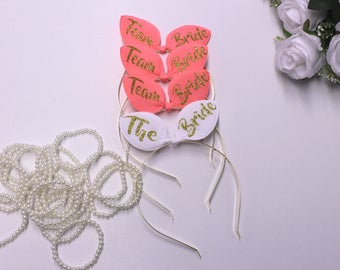Bunny ears, Bachelorette headbands, Bachelorette party, Weddings, Bridal gift, Bridesmaid, Maid of Honor, Bridal tiara, Bridal headband