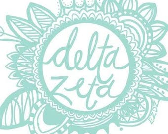 Delta Zeta Flying Pig Running Shirt/Tank