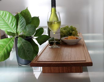 Wooden Platter - Wooden Tray - Serving Platter- Centerpiece - Antipasto Platter - Footed Platter