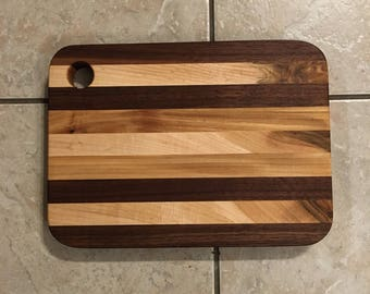 Wooden cheese tray, serving tray, cutting board