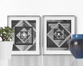 Bedroom Decor Geometric Print Digital Download Printable Art Scandinavian Art Abstract Art Print Nordic Art Minimalist Art Prints Home Decor