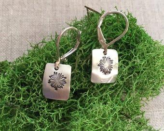 Floral Sterling Earrings