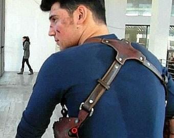 Nathan Drake Uncharted holster fondina Cosplay