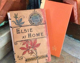 """Journal - 4 1/2"""" x 7 1/4"""" - 'Elsie At Home' Book"""