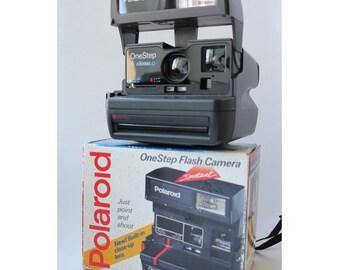 Vintage Polaroid OneStep Close Up, Polaroid Camera, Vintage Camera, Retro Camera, Retro photoCamera, Polaroid, Polaroid 636