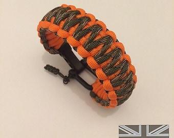 KMP 'Deer Hunter' Paracord Wristband