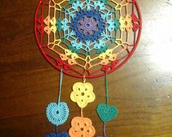Scacciasogni or Crochet Dreamcatcher