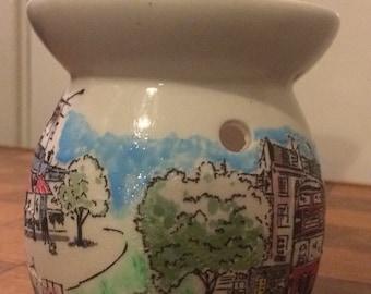 Handmade Cath Kidston Billy Dog london townhouse wax burner
