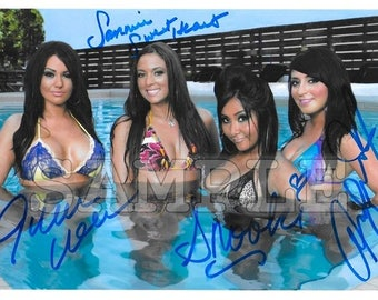 Jersey Shore signed Cast 8x10 Autograph RP - Great Gift Idea - Ready to Frame photo picture
