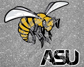 Alabama State Hornets svg dfx jpeg jpg eps layered cut cutting files decal vinyl die cut cricut silhouette
