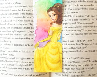 Belle (Beauty and The Beast) Bookmark (original)