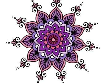 Floral Mendhi
