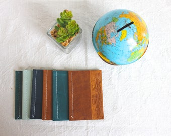 Mini Leather Notebook