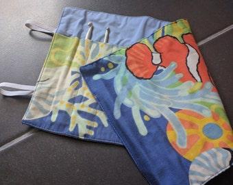 Clown fish, ocean, coral crochet hook case