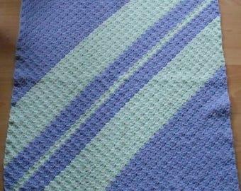 Stroller blanket, snuggle blanket, baby blanket 68 x 68 or 83x83cm