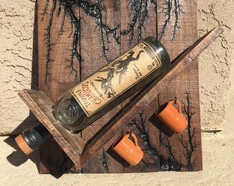 Tequila Shot Bottle Holder