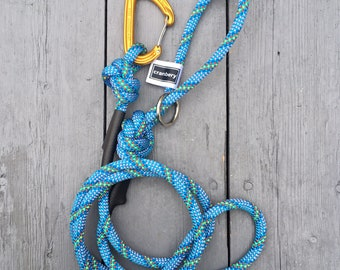 Climbing Rope Dog Leash The Ariel Blue Purple Green Red