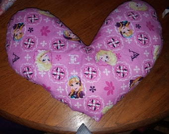 Handmade Loveheart Cushion