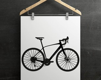 Specialized Diverge Bike Print
