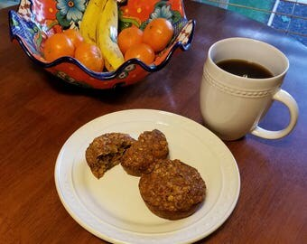 Power Muffins - 9 Pack - Fresh Baked Healthy All Natural Muffins