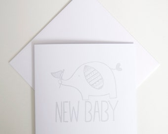 Greeting Card - Mini / New Baby