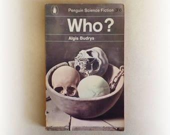 Algis Budrys - Who? - Penguin science fiction vintage paperback book - 1964