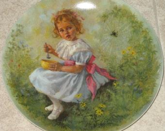 Collector Plate- Little Miss Muffet