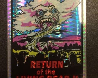 Return Of The Living Dead Part 2 Prism Horror Sticker