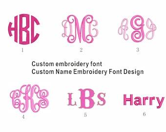 Custom letters,,Custom embroidery,letters,Custom Vine 3 Letter Monogram,Embroidery Design,personalized,machine embroidery,vine monogram