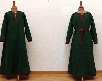 Dress, linen, medieval, Viking, RUS, Slaven, reenact, LARP, children, Gr. 116
