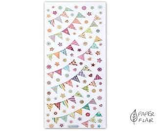 Sticker pennant Garland (DP2)