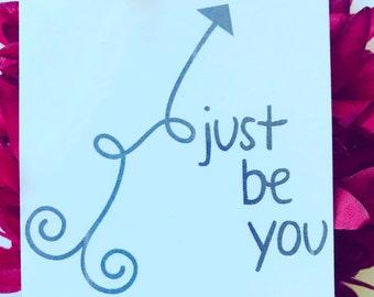 Keepsake Kard: Just Be You
