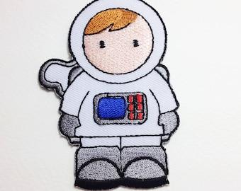 Astronaut boy patch Iron on patch