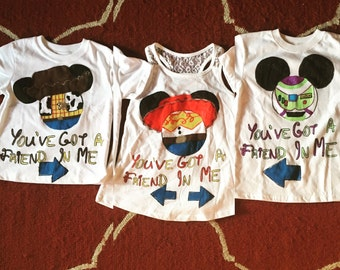 Disney Themed Adult Shirts