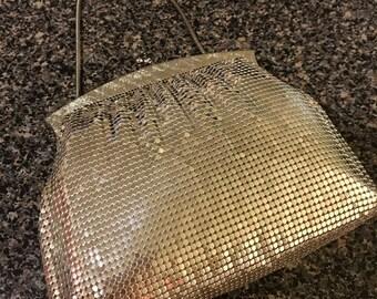 Vintage Whiting & Davis Silver Mesh Handbag